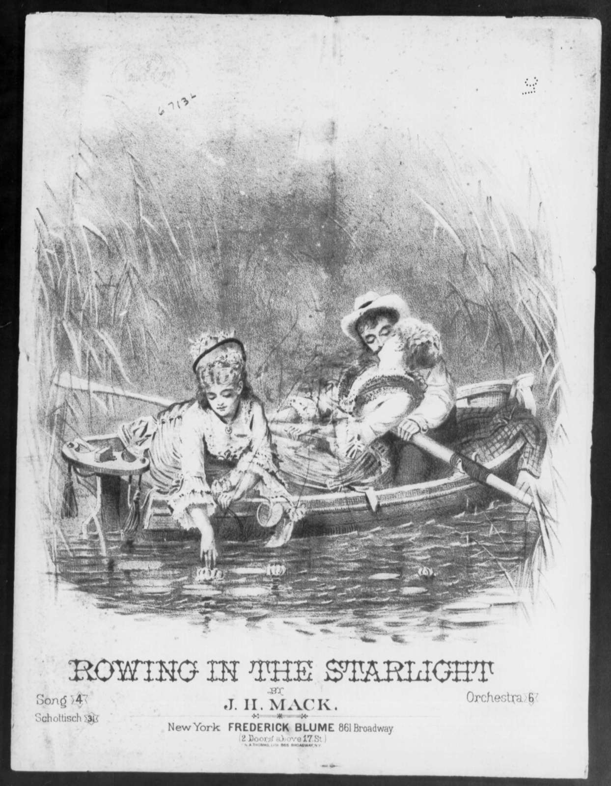 Dip, dip; or, Rowing in the starlight