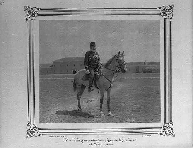 [Divisional General Ethem Paşa, Commander of the Fifth Cavalry Regiment of the Imperial Guard] / Abdullah Frères, Phot., Constantinople.