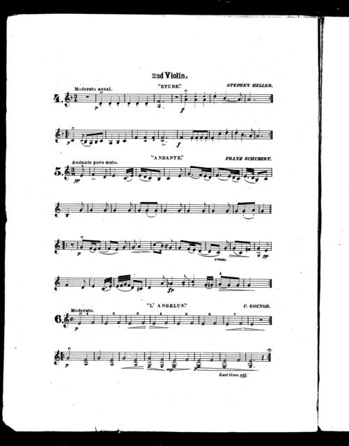 Easy string quartettes, series I