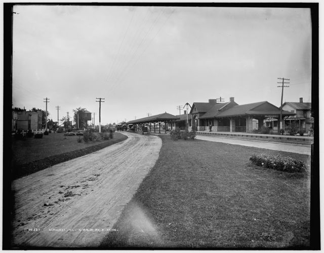 Elmhurst, Ill., C. & N.W. Ry. [Chicago and North Western Railway] Station