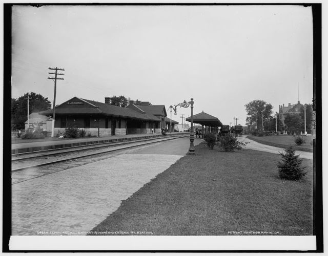 Elmhurst, Ill., Chicago & North-Western Ry. station