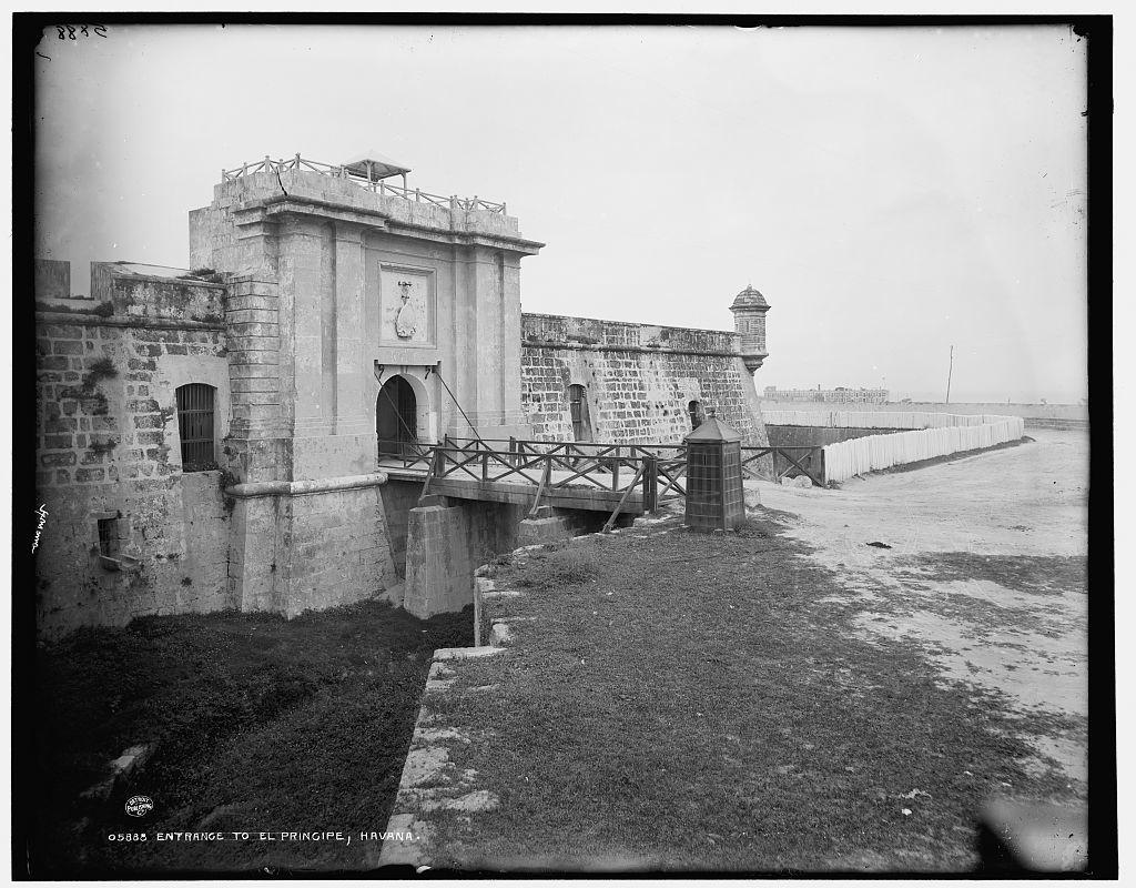 Entrance to El Principe, Havana