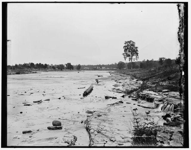 [Escanaba River at Flat Rock, Mich.]