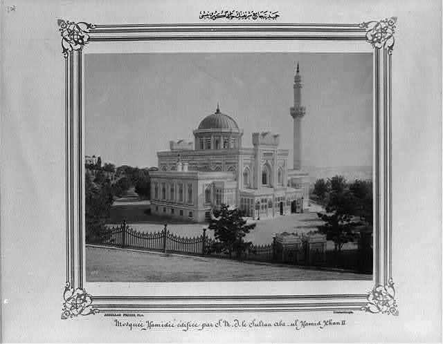 [Exterior view of the Hamidiye Camii (mosque)] / Abdullah Frères, Phot., Constantinople.