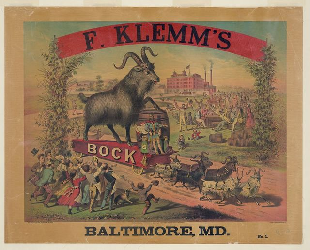 F. Klemm's Bock - Baltimore, Md. No. 1