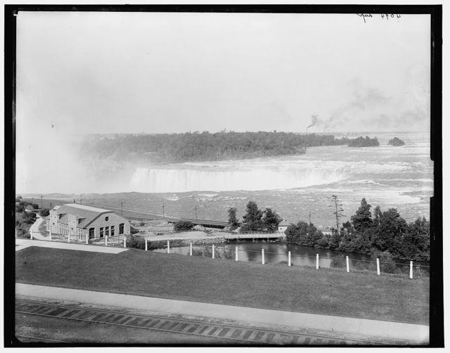 [Falls from Falls View, Niagara Falls, N.Y.]