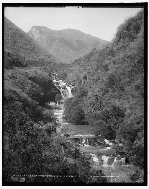 Falls of the Abra, distant view