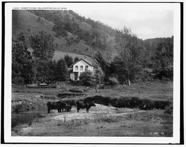 Farmer's home, Rolling Stone Valley, Minn.