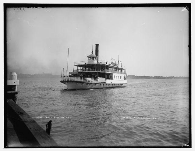 Ferryboat, Detroit