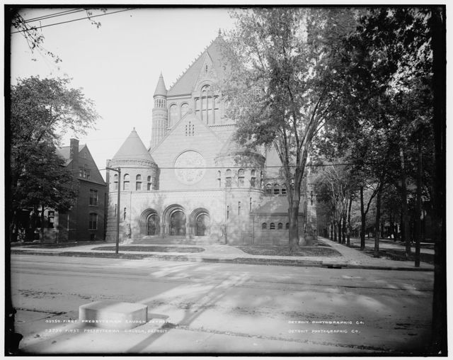 First Presbyterian Church, Detroit