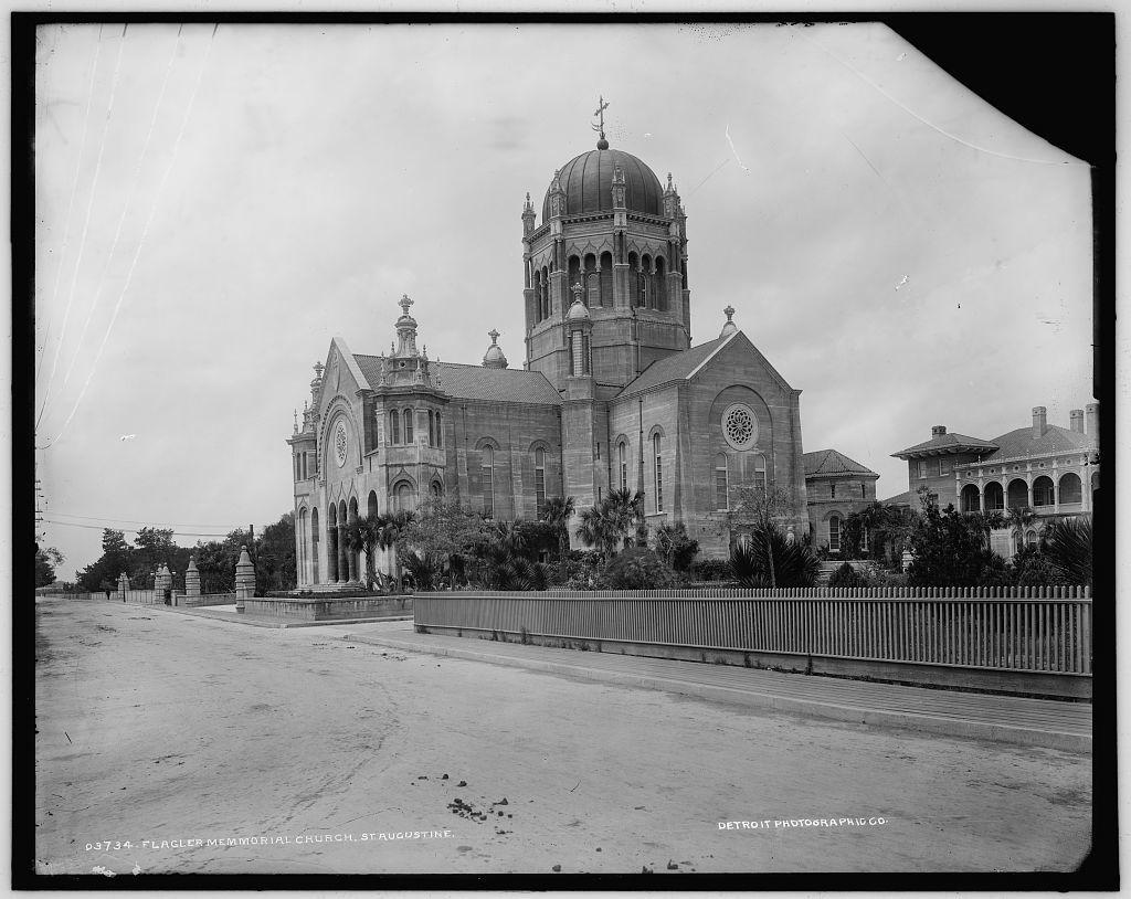 Flagler Memmorial [i.e. Memorial Presbyterian] Church, St. Augustine