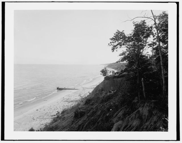 Fort Sheridan, Ill., Lake Michigan from camp