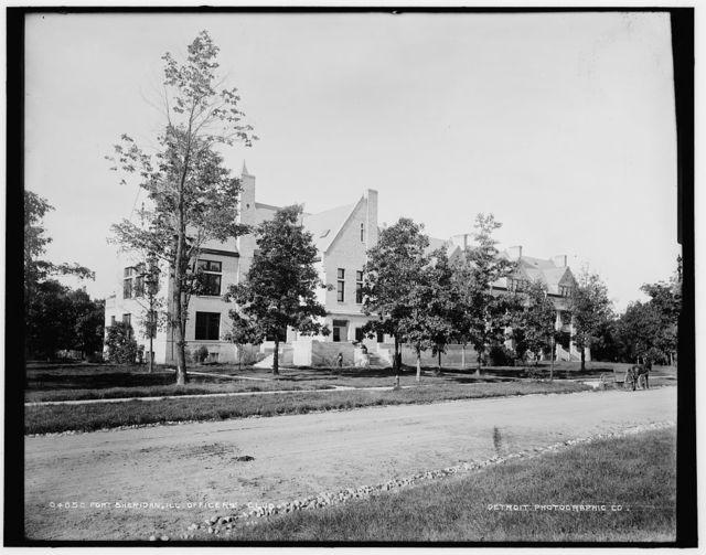 Fort Sheridan, Ill., officers' club
