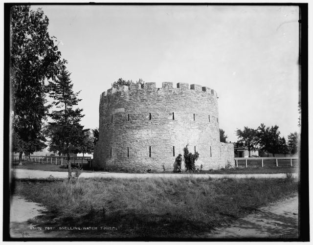 Fort Snelling watch tower