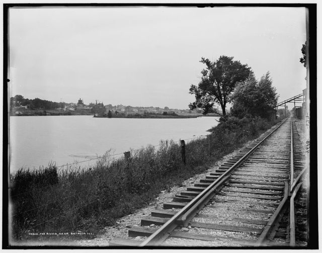 Fox River near Batavia, Ill.