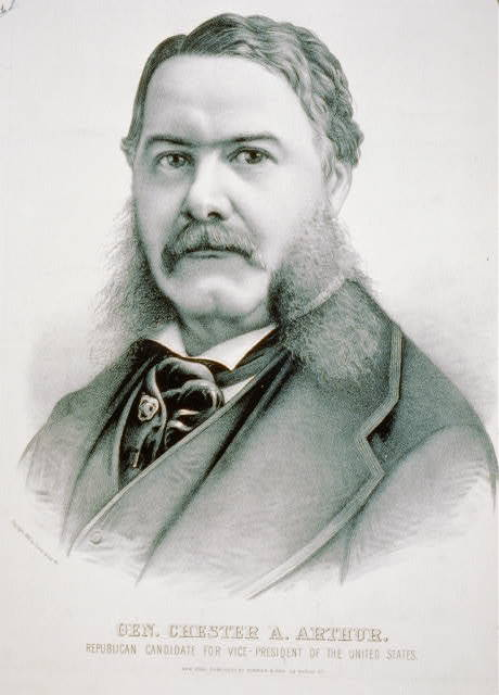 Gen. Chester A. Arthur: Republican candidate for vice-president of the United States