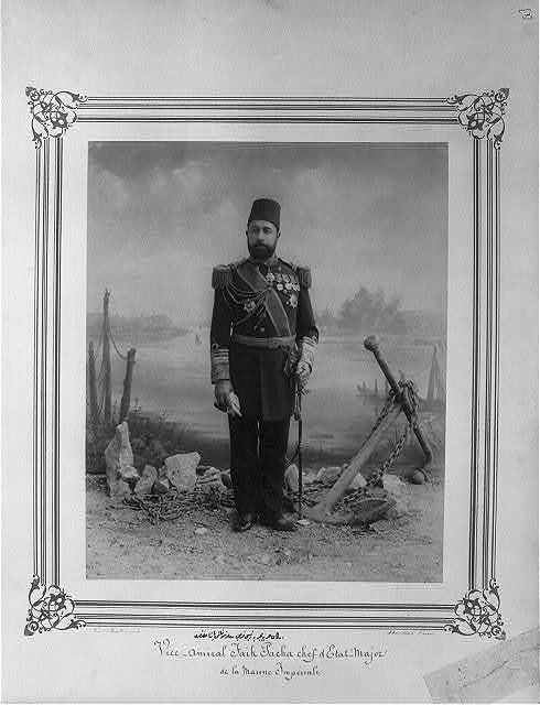 [General Faik Paşa, Chairman of the Navy General Staff, divisional] / Constantinople, Abdullah Frères.