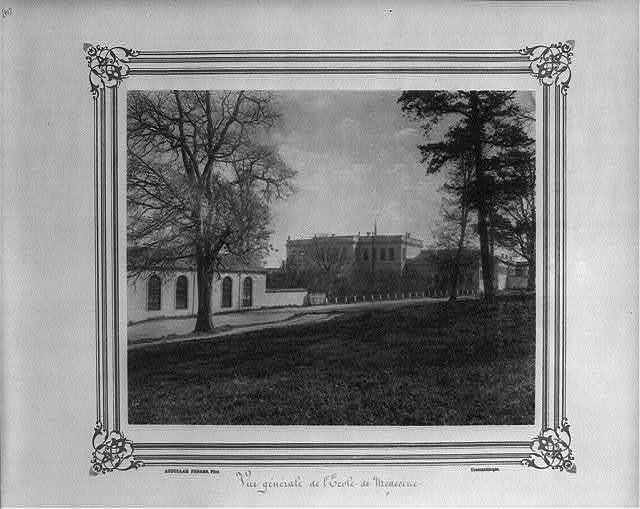 [General view of the (Imperial Military) Medical School] / Abdullah Frères, Phot., Constantinople.