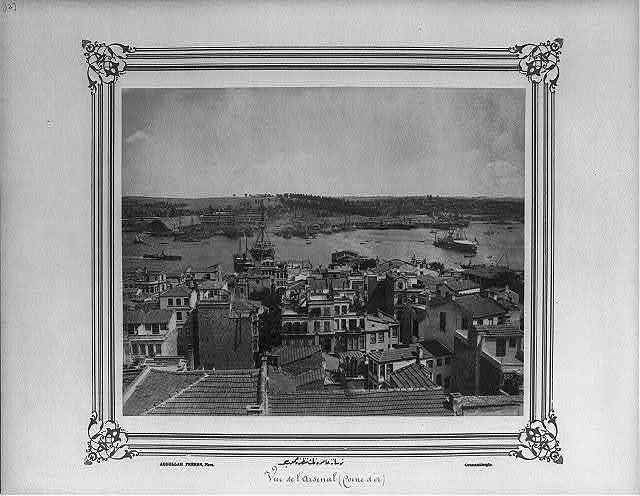 [General view of the Imperial Naval Arsenal] / Abdullah Frères, Phot., Constantinople.