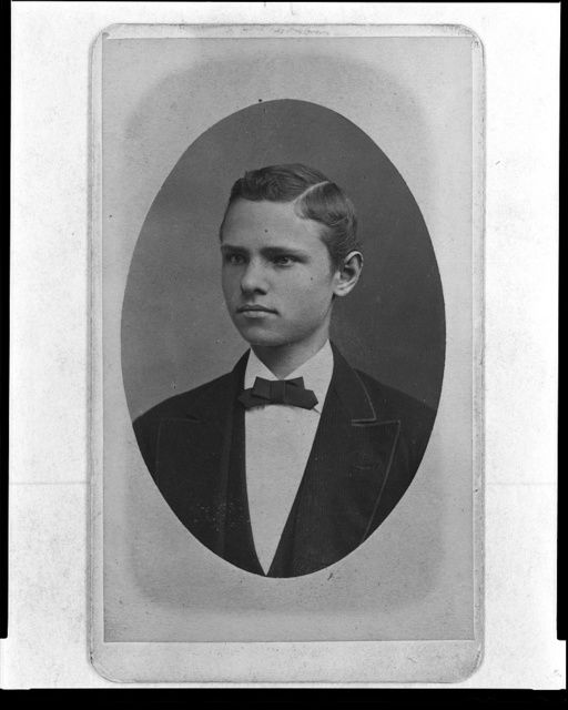 [George Goethals, head-and-shoulders portrait, as a young man] / J. Brill, no. 105 Fourth Avenue ... New York