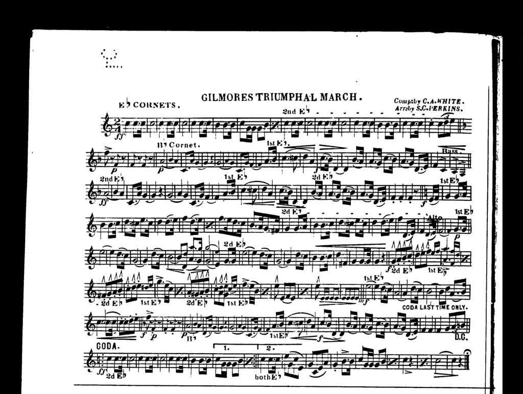 Gilmores triumphal march
