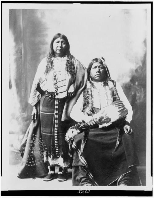 [Grant Richards and wife, full-length portraits]