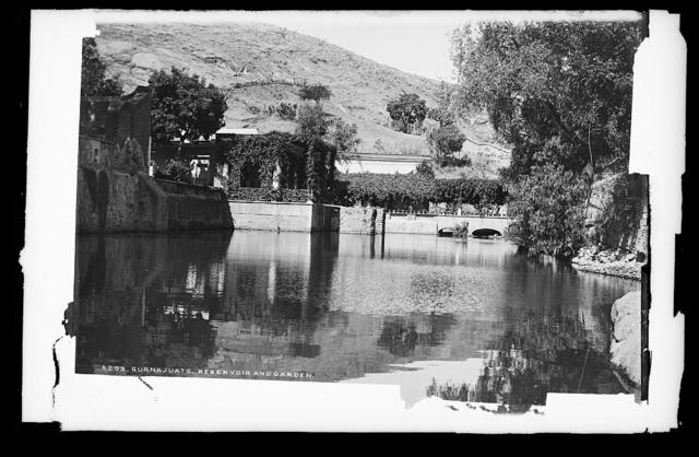 Guanajuato reservoir and garden