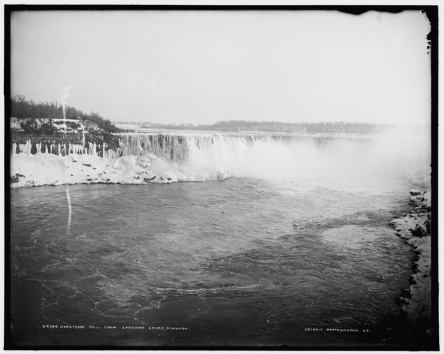 Horseshoe Fall from Canadian shore, Niagara