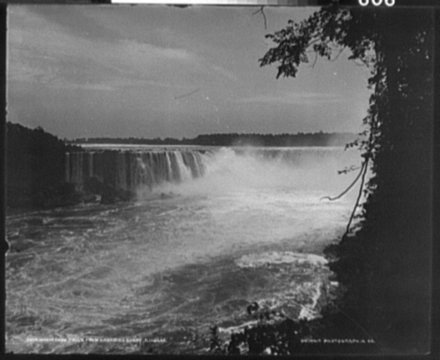 Horseshoe Falls from Canadian Shore, Niagara