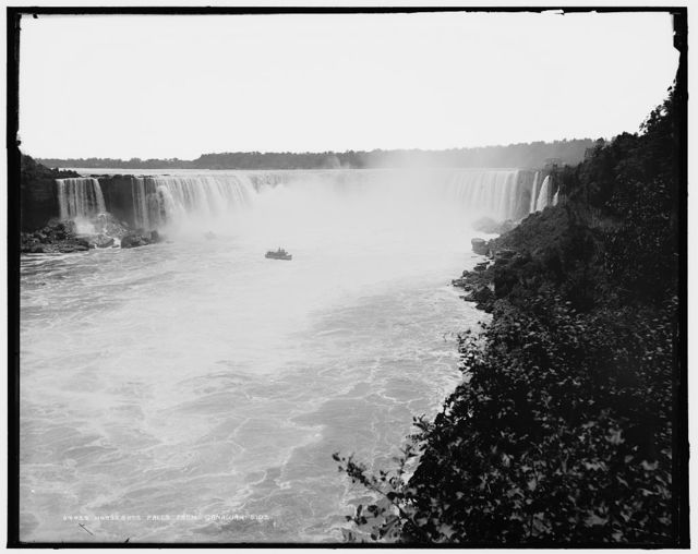 Horseshoe Falls from Canadian side