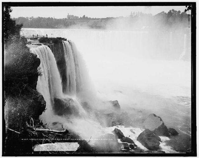 Horseshoe Falls from Goat Island, Niagara
