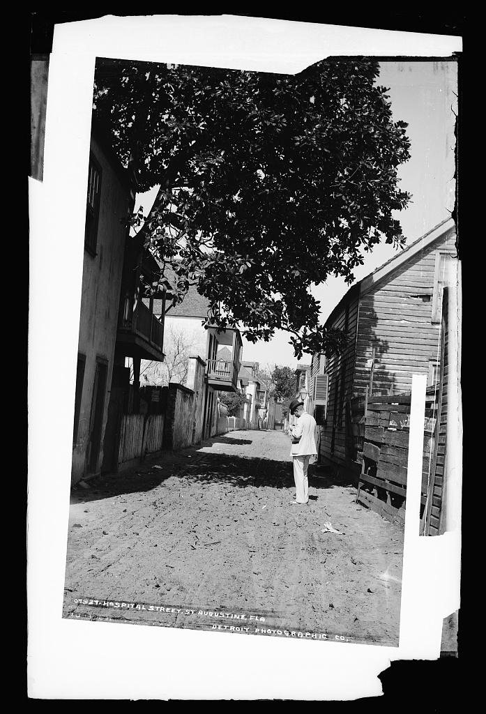 Hospital Street, St. Augustine, Fla.