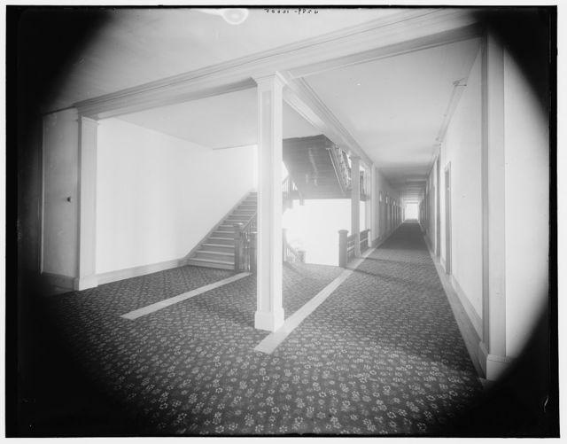 [Hotel Victory corridor, Put-in-Bay, Ohio]