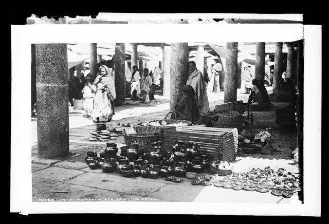 In the market place, San Luis Potosi
