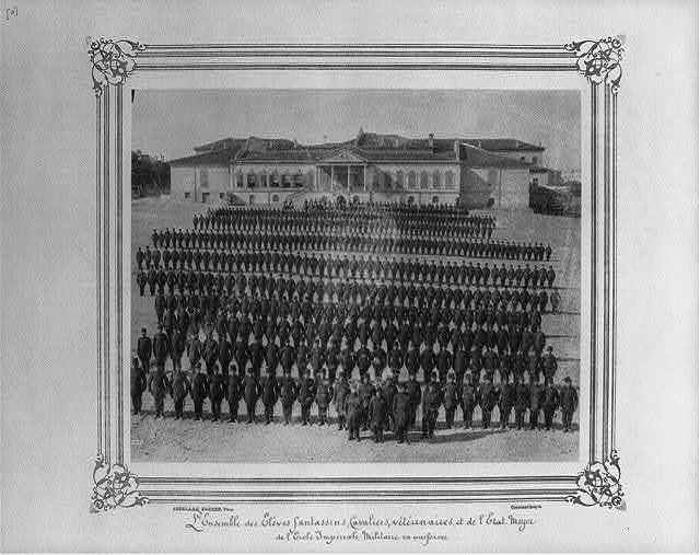 [Infantry, cavalry, veterinary, and General Staff students at the Imperial Military Academy] / Abdullah Frères, Phot., Constantinople.