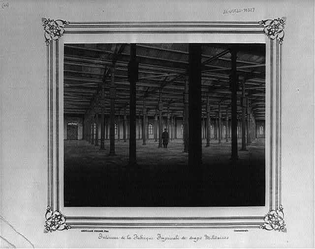 [Interior of the Imperial Military Uniforms Factory] / Abdullah Frères, Phot., Constantinople.