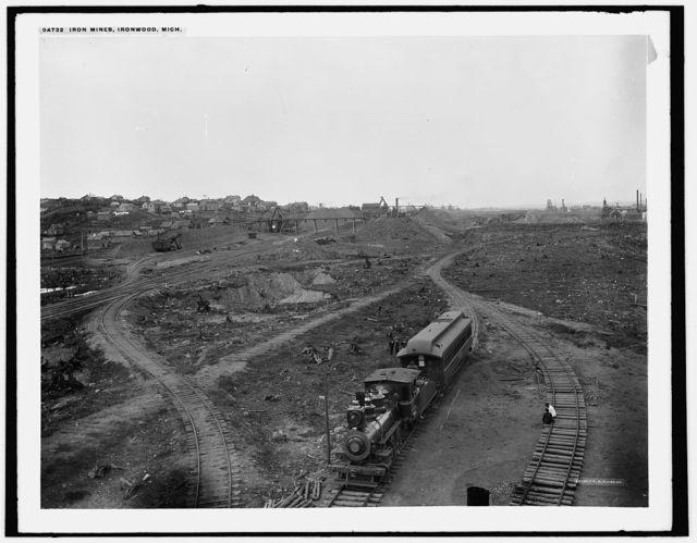 Iron Mines, Ironwood, Mich.