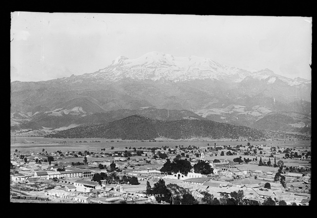 Ixtacchihuatal [sic] from Sacramonte [i.e. Sacro Monte]