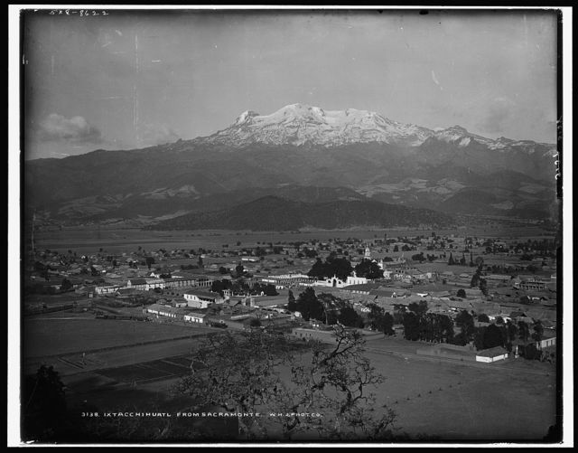 Ixtacchihuatl [sic] from Sacramonte