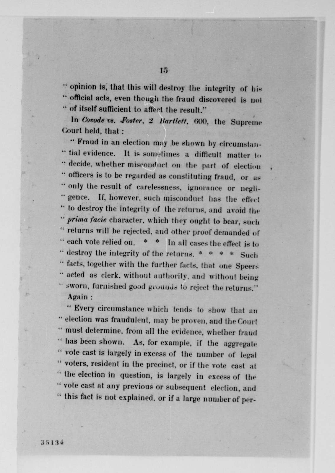 James A. Garfield Papers: Series 4, General Correspondence, 1852-1882; Vol. 67, 1880, Jan. 28-30