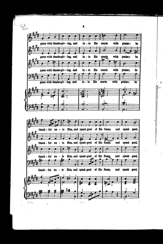 Jubilate in E, no. 21