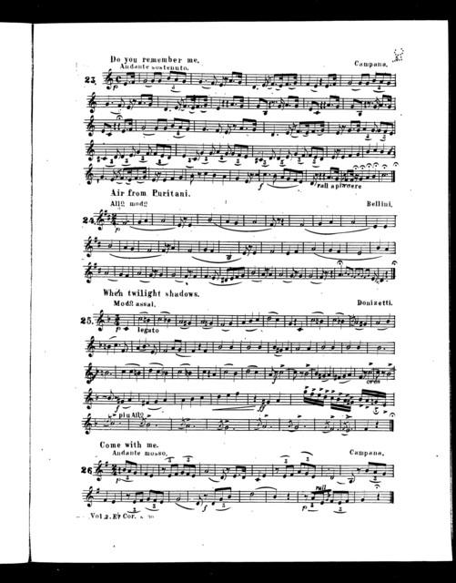 J.W. Pepper's New cornet and piano song album, vol II