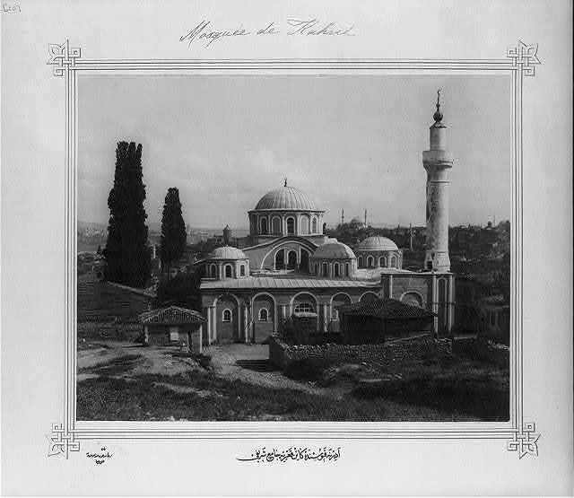 [Kariye Camii (mosque) at Edirnekapı] / Lieutenant Colonel of the General Staff, Ali Rıza Bey.