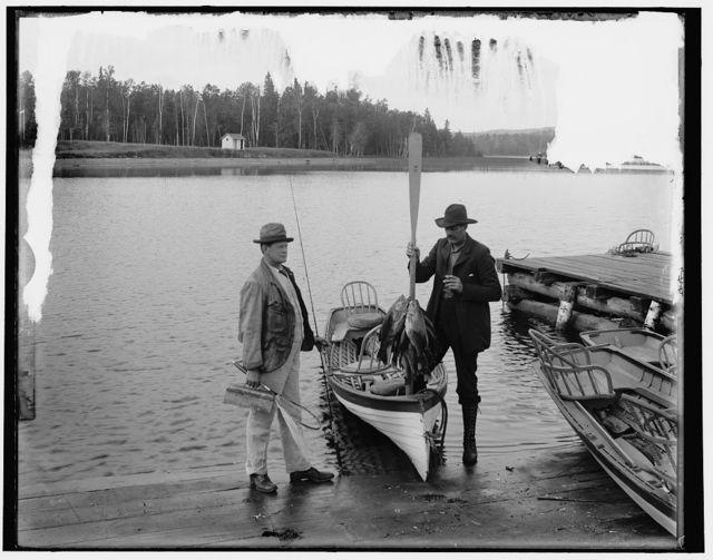 [Lake Gogebic, Mich., black bass fishing]