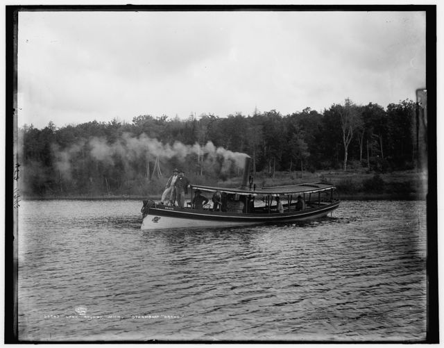 "Lake Gogebic, Mich., steamboat ""Brand"""