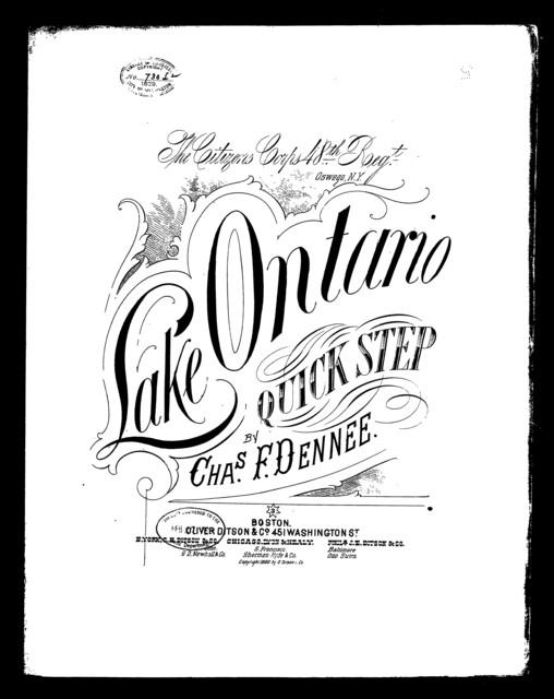Lake Ontario quick step