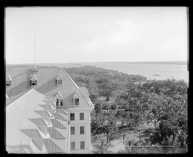 Lake Worth, south from the [Royal] Poinciana