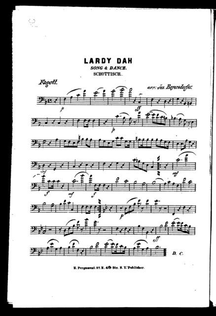 Lardy dah [and] Midnight galopp