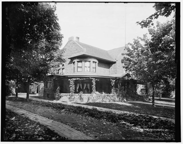 [Marquette, Mich., private residence]