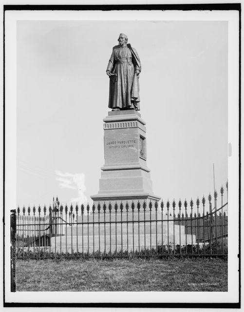 Marquette statue, Marquette, Mich.